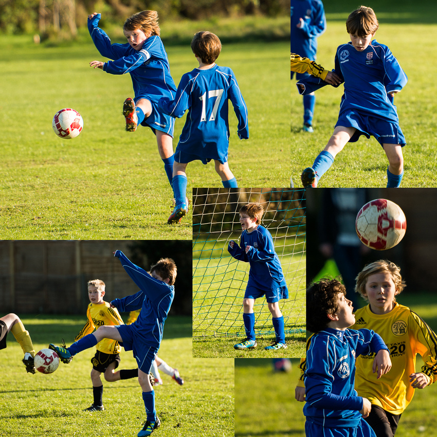 Sporting action from Adur Athletic Football Club, U11s.  Photos by Jenny Rutterford Photography