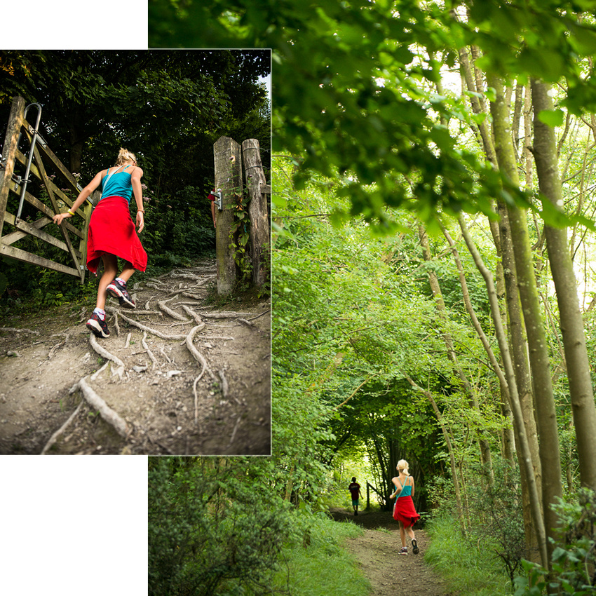 Horseshoe Walk, Steyning, South Downs National Park.  Images by Sussex Wedding Photographer, Jenny Rutterford Photography