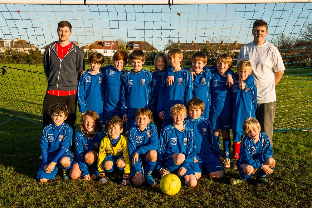 Adur Athletic Football U11s team