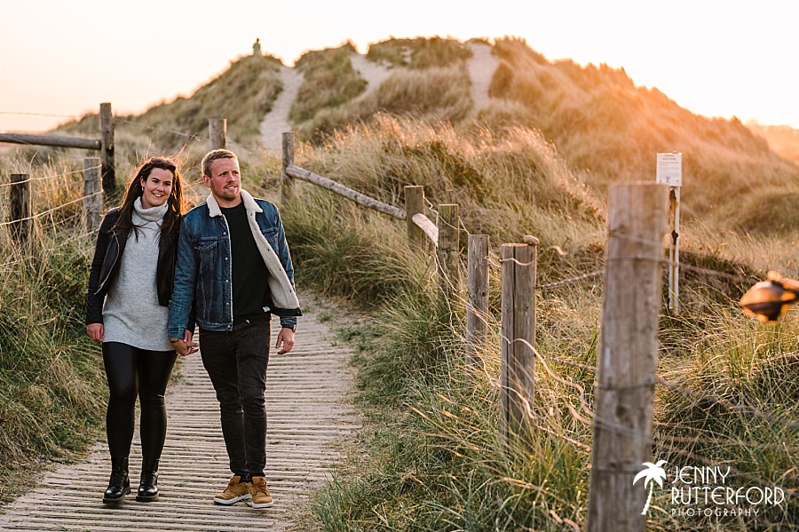Natural pre-wedding shoot by Sussex wedding photographer Jenny Rutterford Photography