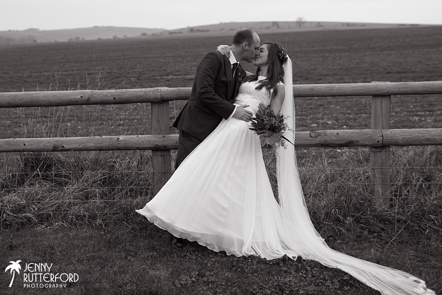 Long Furlong Barn Winter Wedding_1070