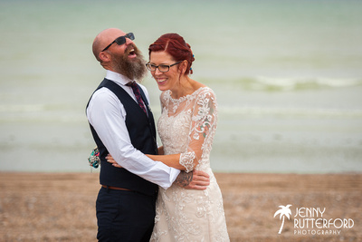 Worthing Dome Wedding captured by Jenny Rutterford Photography