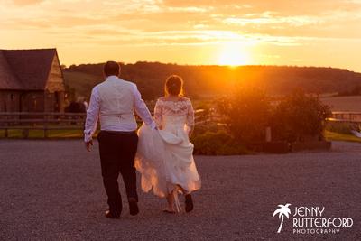 Natural wedding photography at Long Furlong Barn