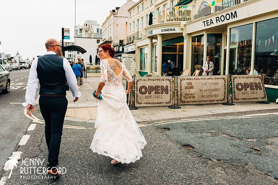 Worthing Dome Wedding Photographer