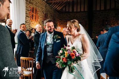 2019 Bartholomew Barn Wedding Sarah & Tom