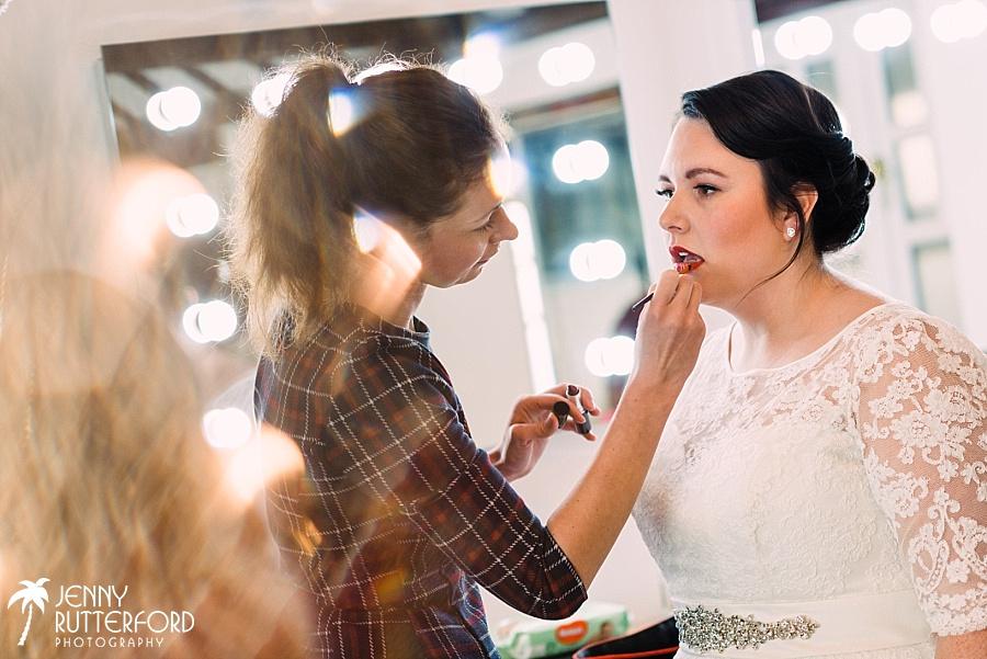 Bridal Prep at Blackstock Country Estate Wedding