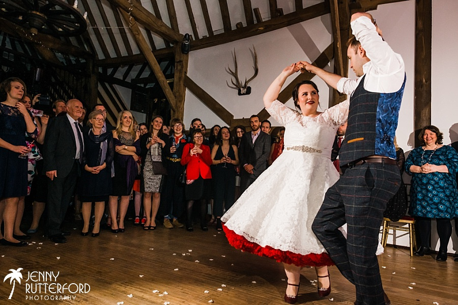 First dance at Blackstock Country Estate