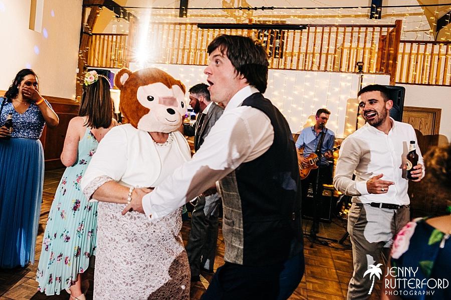 Dancefloor at Long Furlong Barn