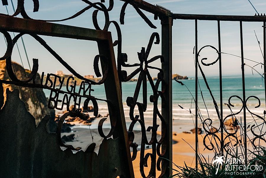 Lusty Glaze Beach Weddings in Cornwall