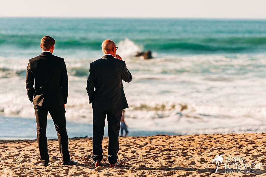 Natural photography at Lusty Glaze Beach Wedding