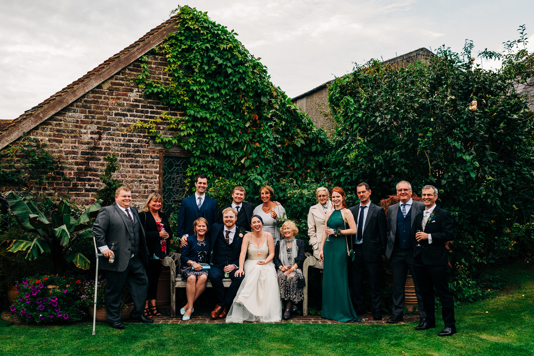 Relaxed wedding photography in Sussex and the UK