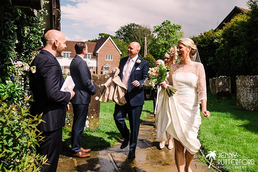 Sussex Church and Marquee Wedding_0015