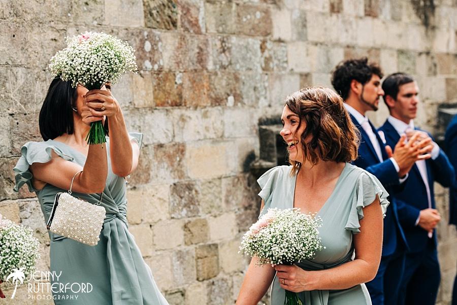 Bridesmaids at Lewes small wedding