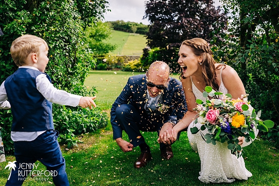 Pangdean Barn wedding