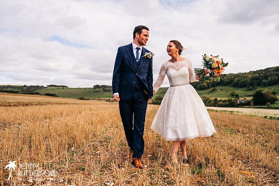 Long Furlong Barn wedding