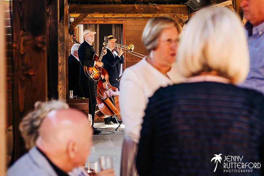Long Furlong Barn Wedding - jazz band
