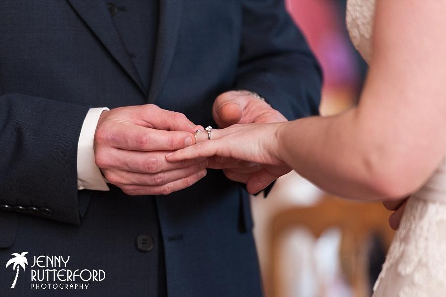 Bartholomew Barn Wedding - the ring