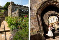 Relaxed Sussex wedding from castle to beach-1014