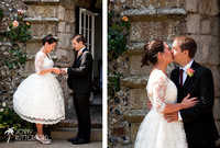 Relaxed Sussex wedding from castle to beach-1005