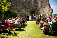 Relaxed Sussex wedding from castle to beach-1002