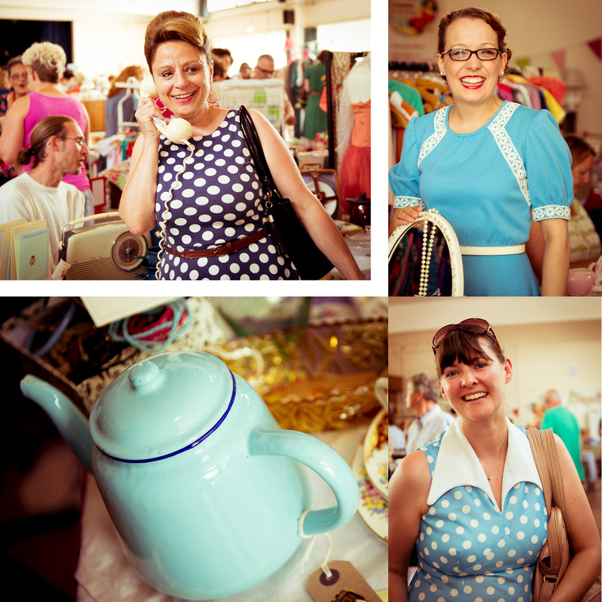 Vintage Blue 50s style at Johnny Loves June.  Images by Sussex Wedding Photographer, Jenny Rutterford Photography