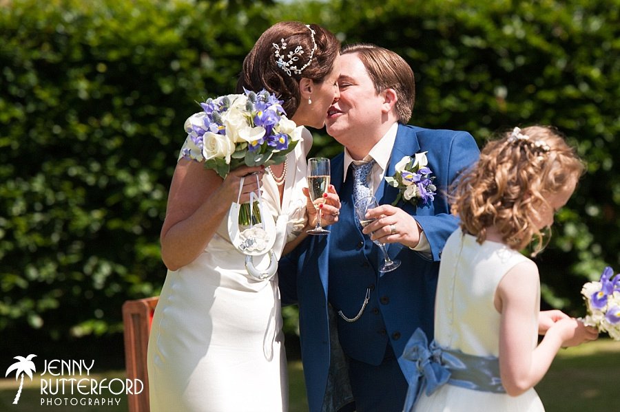 Award-winning lesbian wedding Photography by Jenny Rutterford