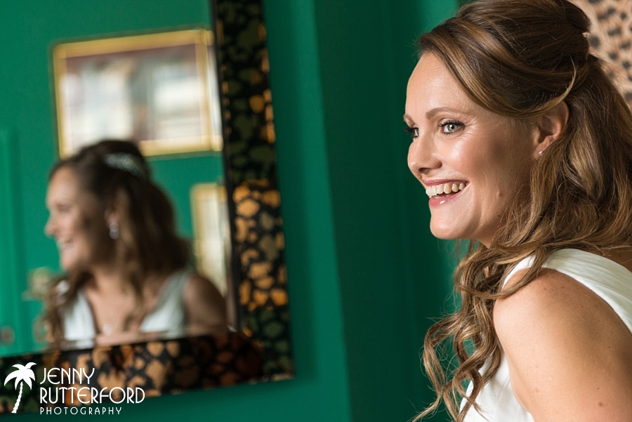 Bridal preparations at Hotel Pelirocco, Brighton