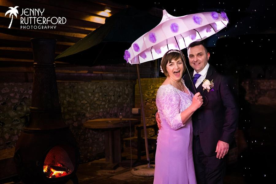 Sarah & Pat's Pangdean Old Barn Wedding