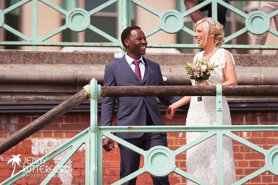 Louise & Amos Brighton Wedding