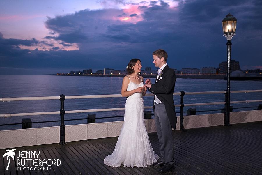 Becky & Patrick's Worthing Pier Wedding