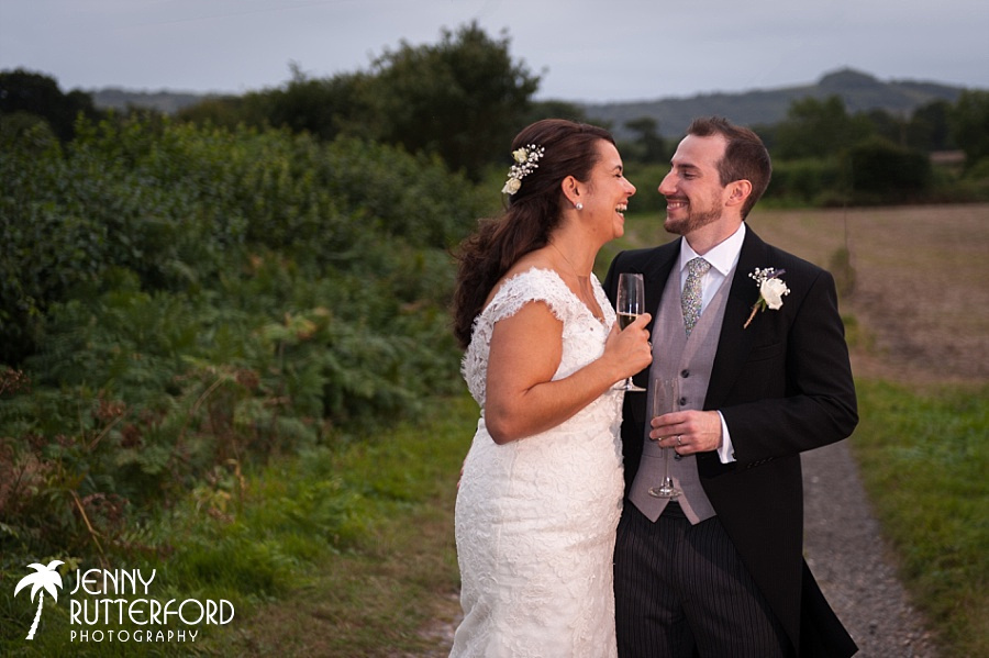 Emily & Carl's Sussex marquee Wedding