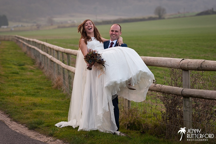 Long Furlong Barn Winter Wedding_1060