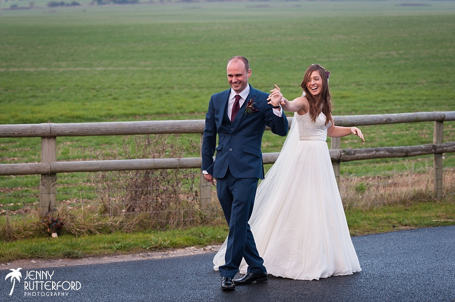 Long Furlong Barn Winter Wedding_1062