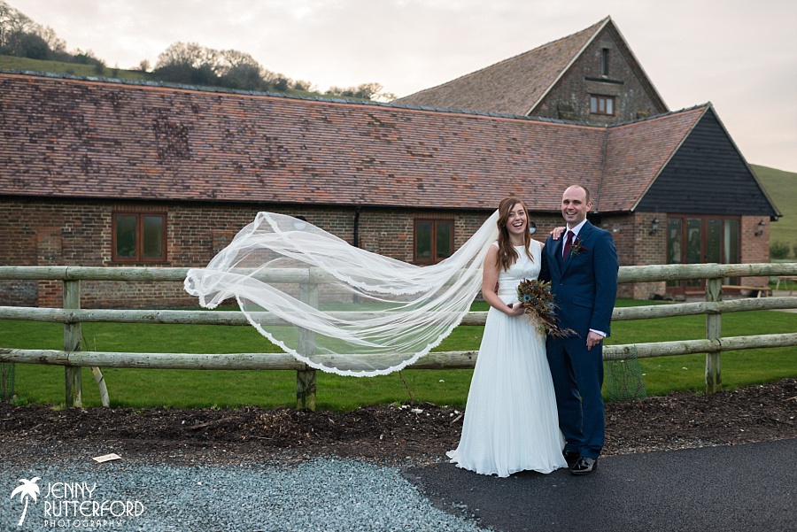 Long Furlong Barn Winter Wedding_1069