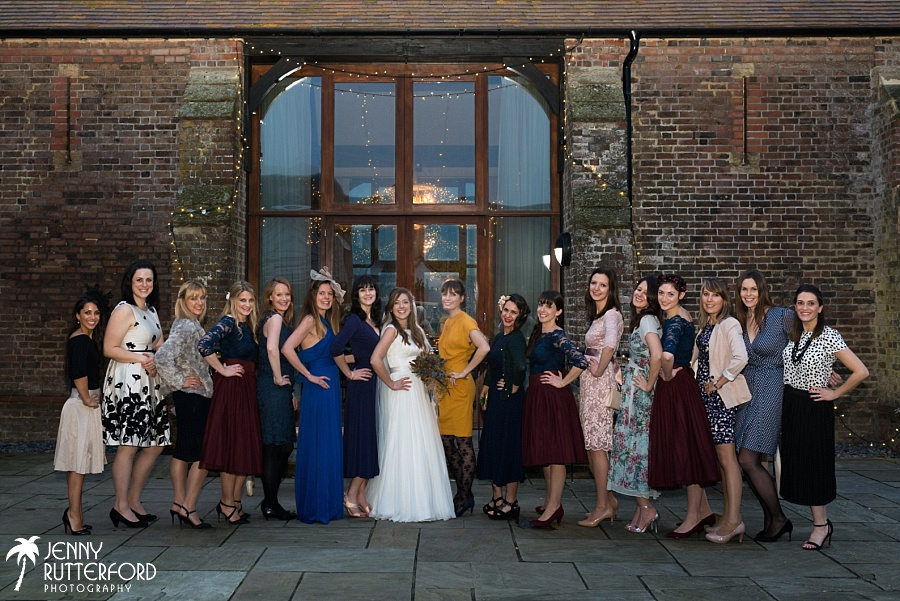 Long Furlong Barn Winter Wedding_1075