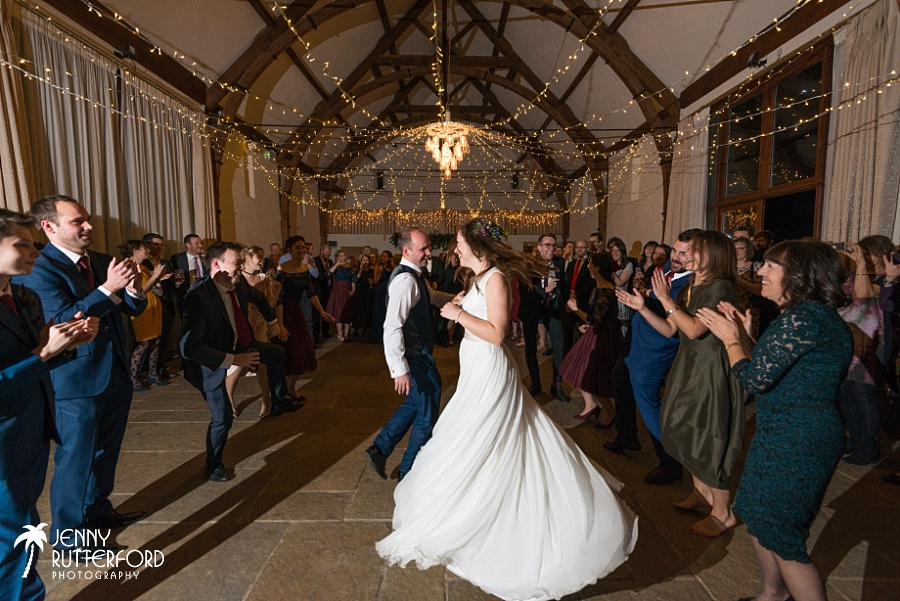 Long Furlong Barn Winter Wedding_1090