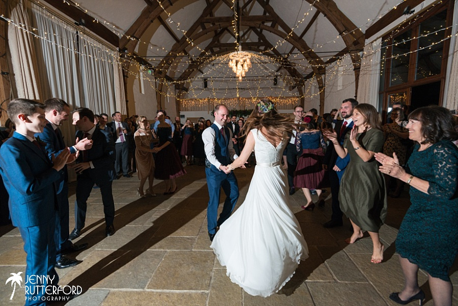 Long Furlong Barn Winter Wedding_1091