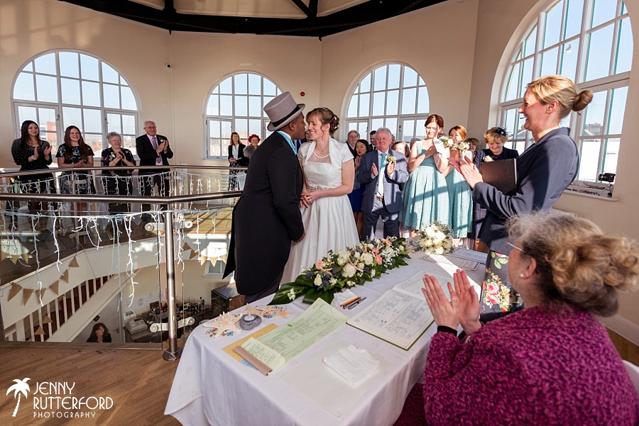 Worthing Dome Winter Wedding_1054