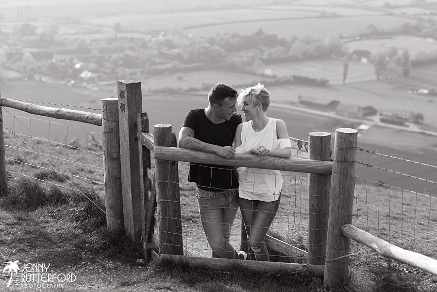Devil's Dyke Brighton pre wedding shoot_2011
