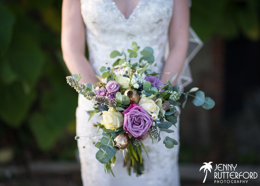 Nell's Flowers bouquet, Sussex Wedding photography by Jenny Rutterford