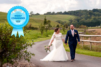 Adele & Glyn Wedding HIGHLY COMMENDED