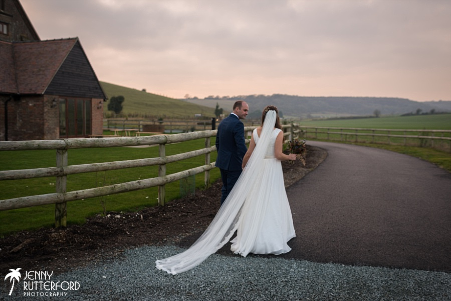 Long Furlong Barn Winter Wedding_1058