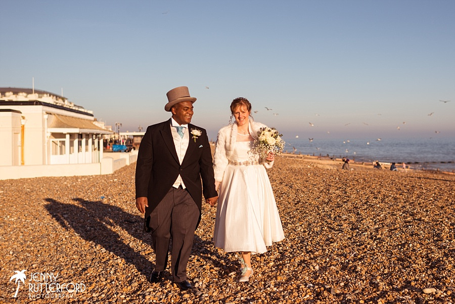 Worthing Dome Winter Wedding_1087