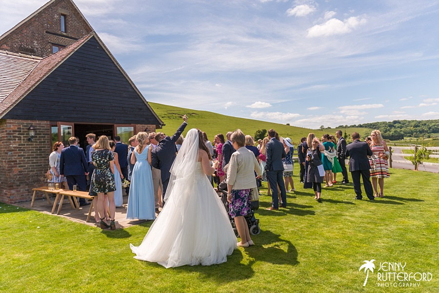 Long Furlong Barn Wedding_1043