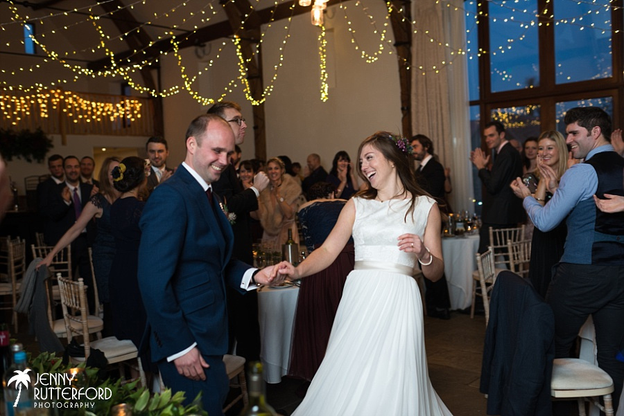 Long Furlong Barn Winter Wedding_1079